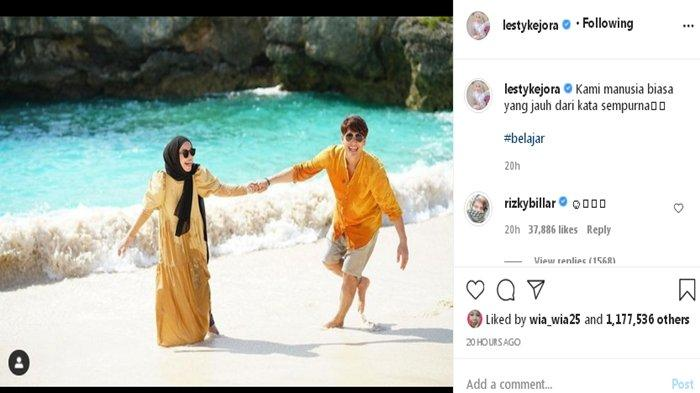 Lesty Kejora dan Rizky Billar