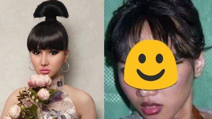 Foto Masa Lalu Lucinta Luna Saat Jadi Pegawai Salon Viral