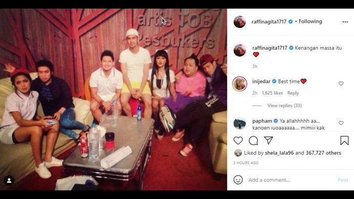 Raffi Ahmad Rindu Mendiang Olga Syahputra dan Julia Perez, Kenangan 'Massa' atau 'Masa'