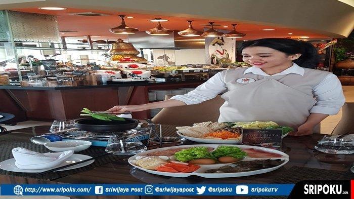 Makan Shaburista di Arista Hotel Tinggal Celup dan Masak
