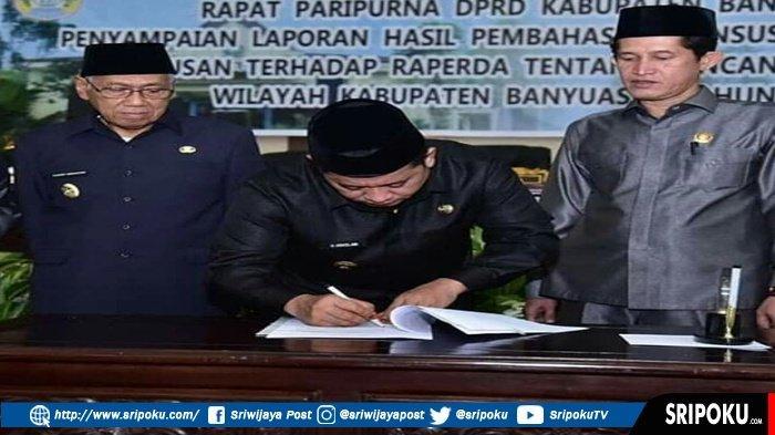 DPRD Banyuasin Tetapkan Tata Ruang Wilayah Kabupaten