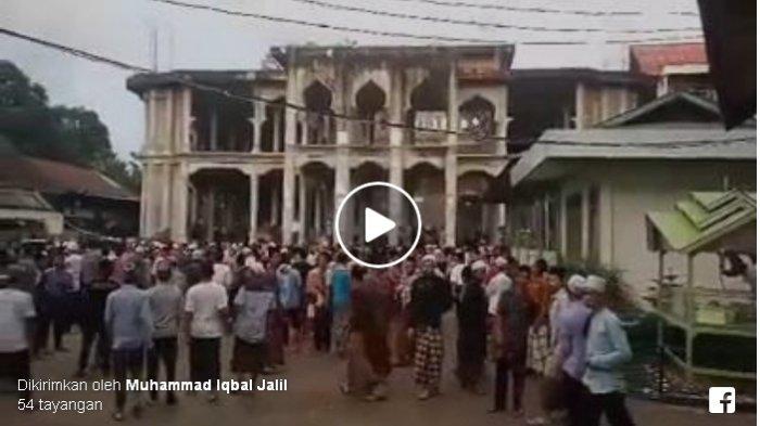 VIDEO : Kerusakan Bangunan di Dayah Mudi Samalanga Akibat Gempa