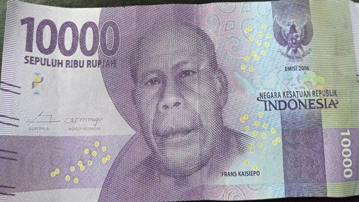 Gambar pahlawan di lembar uang 10.000