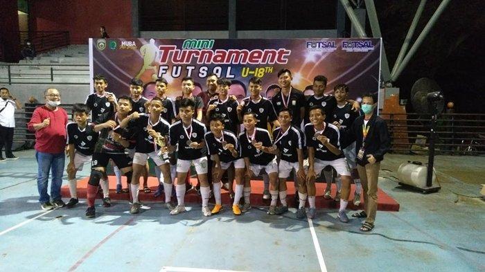 Juara 3 Usai Menang Adu Penalti dari Tim Muba, Tim Futsal Palembang Kebanjiran Ucapan Selamat
