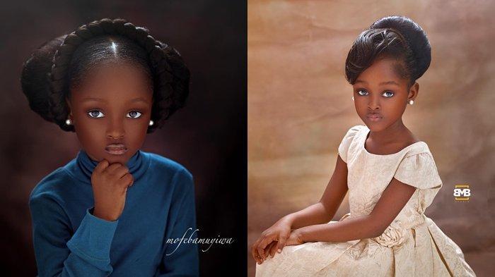 Inilah Gadis Cilik Dijuluki Tercantik di Dunia Bak Barbie Hidup, Foto-fotonya Viral di Media Sosial!