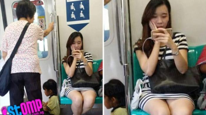 Foto Gadis Ini Menyulut Amarah Netizen,Termasuk Orang yang Memotonya