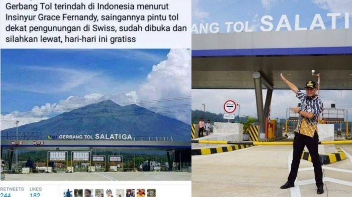 Niat Selfie di Gerbang Tol Salatiga, Gubernur Ganjar Pranowo Malah Dapatkan Ini