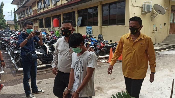 Gara-gara Uang Seribu, Aris Pulang Bawa Parang, Lalu Bacok Jukir di Musi 2 Palembang
