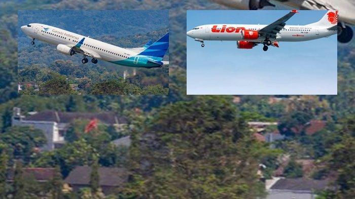 MENDADAK Pesawat Garuda dan Lion Air Rute Pontianak Pilih Mendarat di Palembang dan Batam, Ternyata