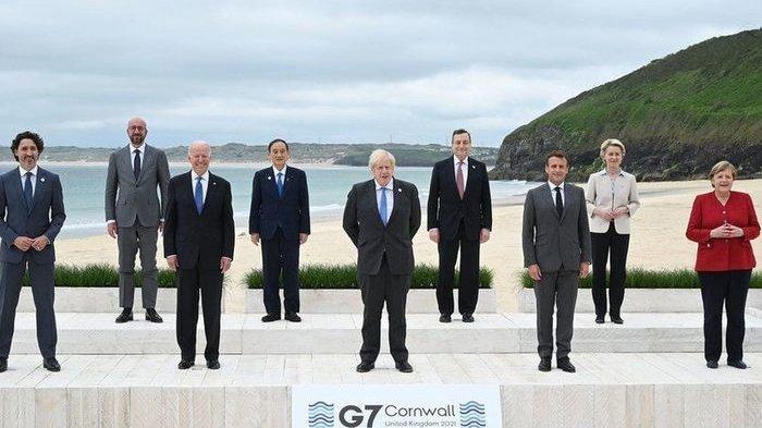 BIKIN Iri AS, CHINA 'Kuasai' 100 Negara, Joe Biden Provokasi G-7 Jegal Beijing, Negara Barat Galau