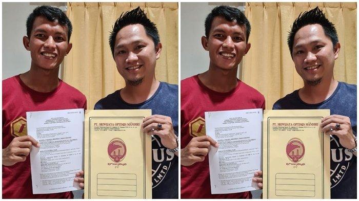Sriwijaya FC Resmi Kontrak Gelandang Bertahan Adik Muhammad Nasuha Dari Perserang Banten