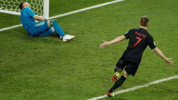 Sudah 2 Kali Adu Penalti, Jika Terjadi Sekali Lagi, Kroasia Terancam Gagal ke Final Piala Dunia 2018