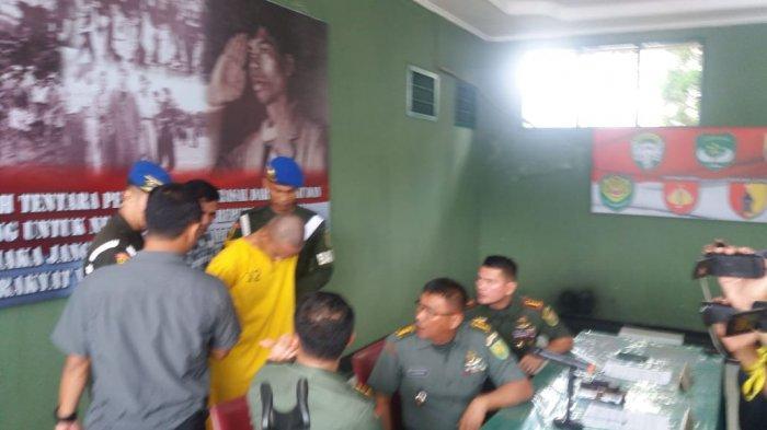 LIVE STREAMING: Pengakuan Tersangka Prada DP Pelaku Mutilasi Vera di Markas Danpomdam II Sriwijaya