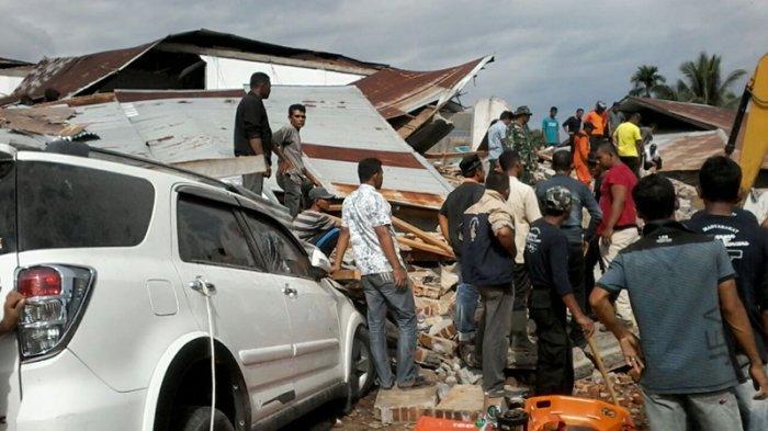 Rombongan Pengantin Asal Padang Meninggal Tertimbun ReruntuhanGempa Aceh