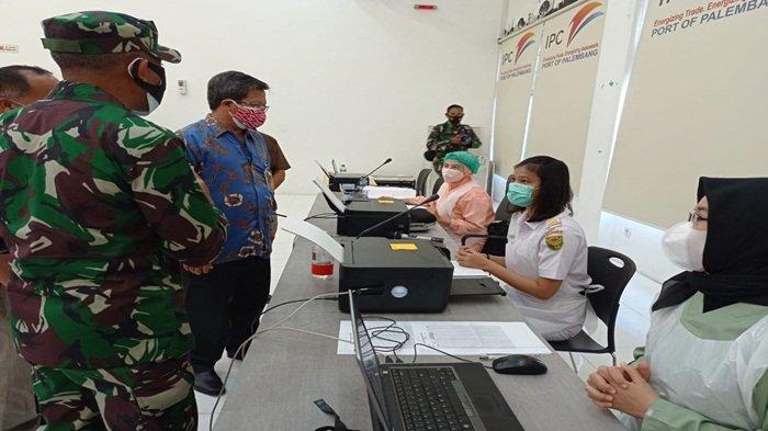 1.000 Orang Jalani Vaksinasi Covid-19 di PT Pelindo II Cabang Palembang