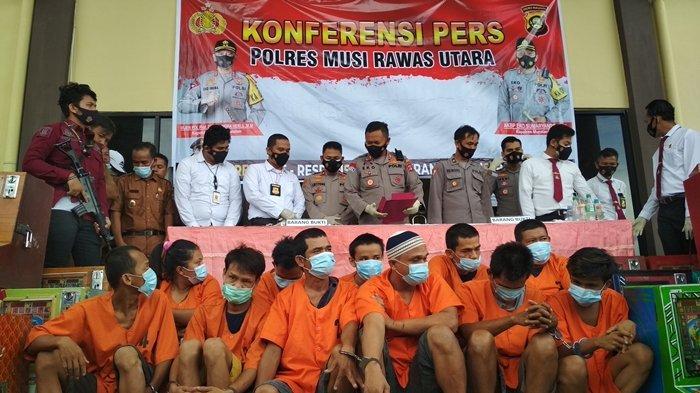 Update Penggerebekan Kampung Narkoba di Muratara, dari 18 yang Diamankan Hanya 3 yang Diproses Hukum