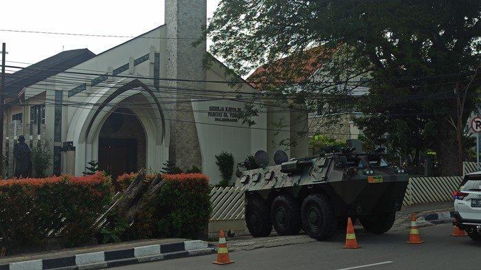 Ibadah Paskah di Gereja Santo Yoseph Palembang Khidmat, Keamanan Berbeda Dari Tahun Sebelumnya