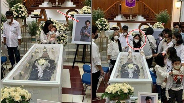 Baru 40 Hari Gewa Putri Glenn Fredly Datangi Pemakaman Ayahnya, Pilu Mutia Ayu Dekati Peti Jenazah