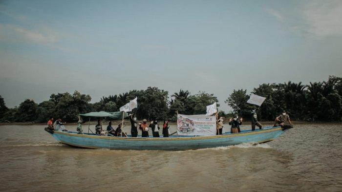 Global Qurban Aksi Cepat Tanggap (ACT) Sumsel turut hadir menyapa para warga di Pulokerto, Gandus, Palembang, Sumsel. Pulau yang berada di antara aliran sungai musi ini memiliki luas lebih dari 500 hektar, dengan jumlah penduduk sebanyak 362 jiwa atau 92 kk