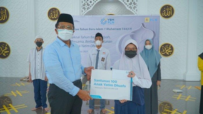 Gelar Peringatan Tahun Baru Hijriah, PLN UIW S2JB Salurkan Santunan & Beasiswa untuk Yatim & Dhufa
