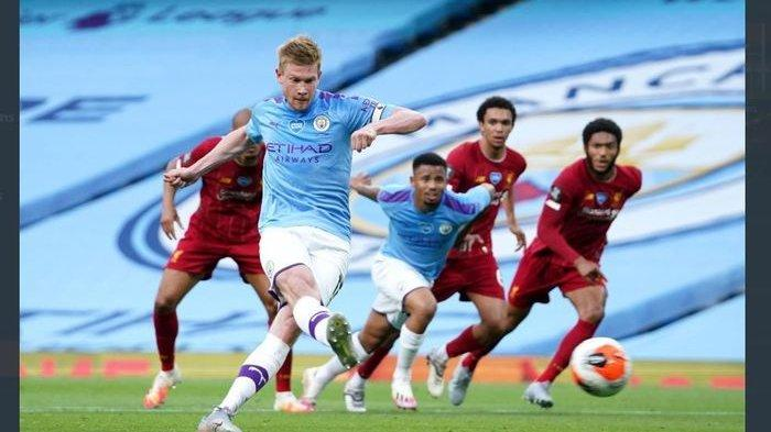 Link Live Streaming Liverpool vs Man City di NET TV, Manchester City Dihantui Rekor Buruk di Anfield
