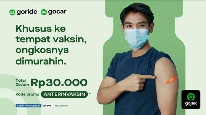 Percepat Vaksinasi, Gojek Beri Diskon Perjalanan untuk Permudah AksesMasyarakat ke Lokasi Vaksinasi