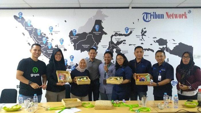 Gojek Indonesia Kunjungi Graha Tribun, Kenalkan 7 Solusi Baru Lewat Fitur Ini, Ada Khusus Palembang
