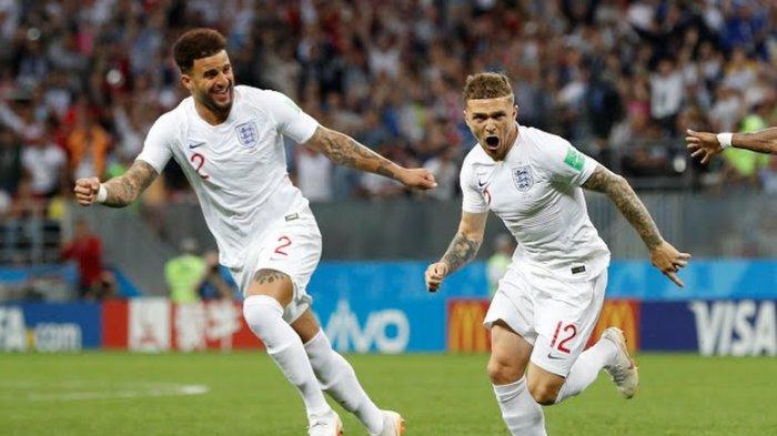 Live Trans TV ! Inggris vs Kroasia Babak Pertama Berakhir 1-0 untuk Inggris