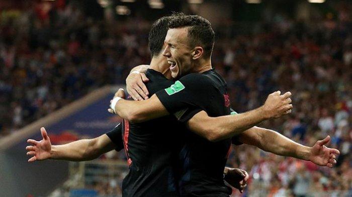 Piala Dunia 2018 : Lewat Perpanjangan Waktu Kroasia Jungkalkan Inggris dengan Skor 2-1