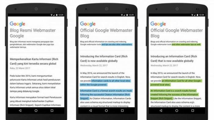 Google Translate untuk Bahasa Indonesia Makin Canggih, Makin Mirip Manusia