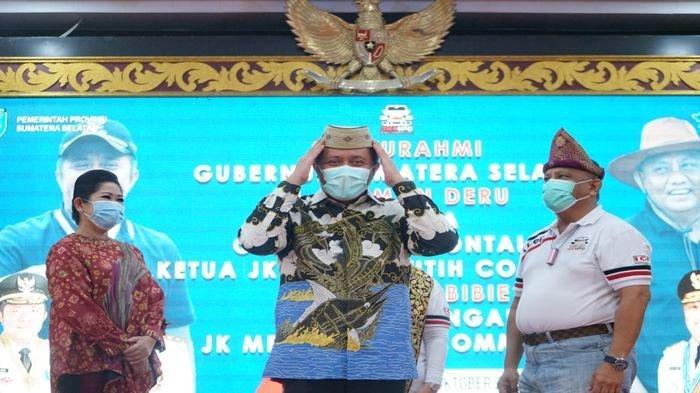 Ketua DMDI Indonesia H. Herman Deru Mandatkan  H. Rusli Habibie Sebagai  Ketua DMDI Gorontalo