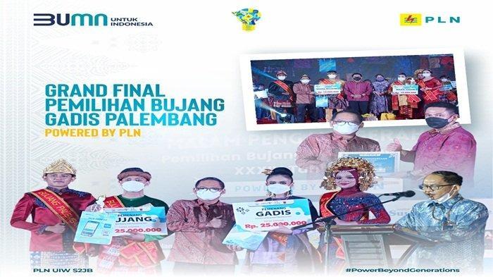 Grand Final Bujang Gadis Palembang 2021 Powered by PLN
