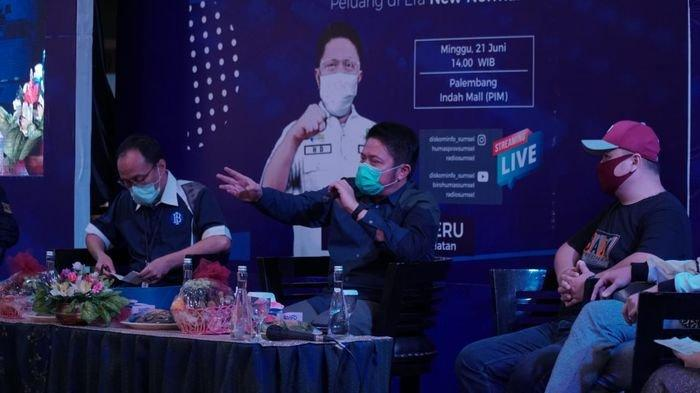 Radio Sumsel Streaming Inisiasi Gubernur Sumsel Herman Deru Resmi Mengudara