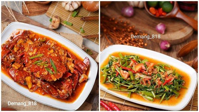 Grand Opening Pecel lele dan seafood Demang 818, beragam menu ikan, ayam, seafood dan lain sebagainya tersedia, dan dapat dipesan melalui aplikasi pemesanan makanan online Grab food.