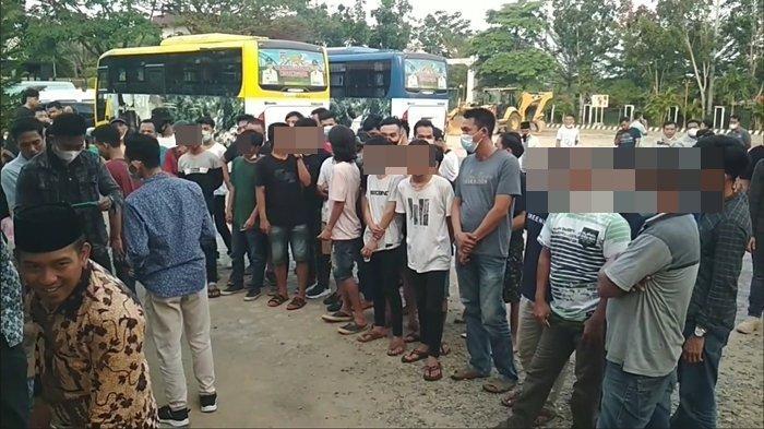 Penggerebekan Lokalisasi Patok Putih Lubuklinggau, 42 Pria Muratara Kedapatan Dugem, Urine Positif