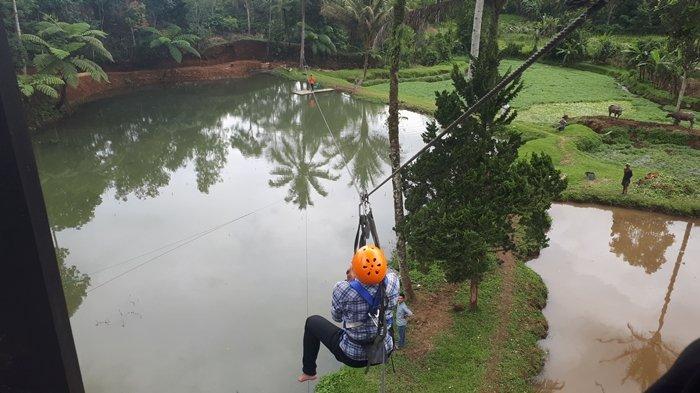 Manjakan PengunjungHadapi Libur Lebaran, Objek Wisata di Pagaralam Tambah Wahana Baru