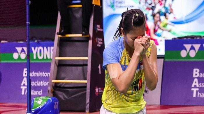 Ibu Terpapar Covid-19 Sampai Belum Lama Bulan Madu, Cerita Sedih Greysia, Juara Thailand Open I 2021