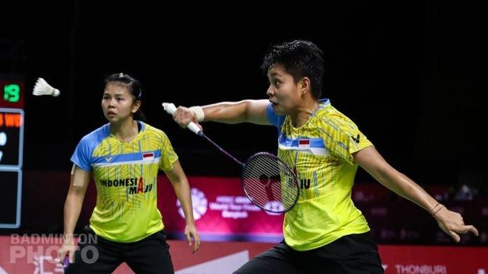 BWF World Tour Finals 2020 - Ganda Putri Indonesia Tumbang, Susul Anthony Ginting Tereliminasi