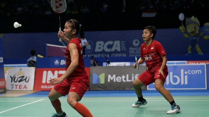 Hasil Kejuaraan Beregu Asia 2020 - Greysia/Apriyani Jadikan Tim Unggul 2-0 atas Filipina