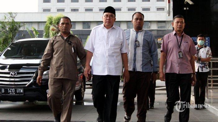Sebagian Orang yang Terjaring OTT di Bengkulu Ditahan