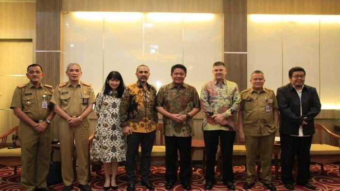 Terima Kunjungan PT Talisman Sakakemang, Gubernur HD Minta Jaga Lingkungan dan Tenaga Kerja Lokal