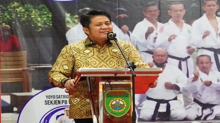 HD Usulkan Turnamen Karate Piala Gubernur Sumsel Akhir Tahun