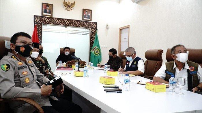 Meski Bukan Provinsi PPKM Darurat, Gubernur Herman Deru Ajak Masyarakat Sumsel Tetap Prokes & Vaksin