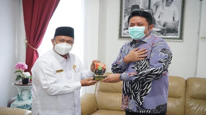 Herman Deru Sambut Kakanwil Kemenag Baru Dilantik Ini Harapannya Dalam Pembinaan Umat di Sumsel