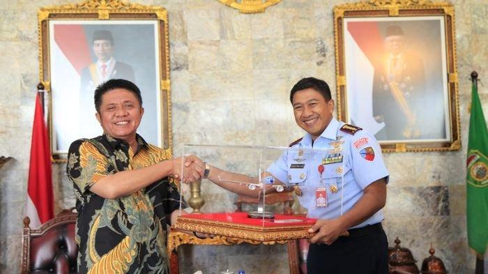 HD Cari Solusi Lanjutkan Pembangunan Kawasan Terpadu Embarkasi Haji Palembang