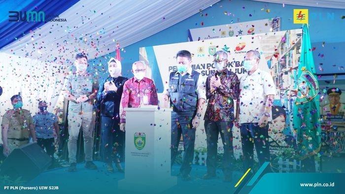 Sungai Ijuk Resmi Ada Pondok Baca Digital, Ini Harapan Gubernur Sumsel dan PT PLN UIW S2JB