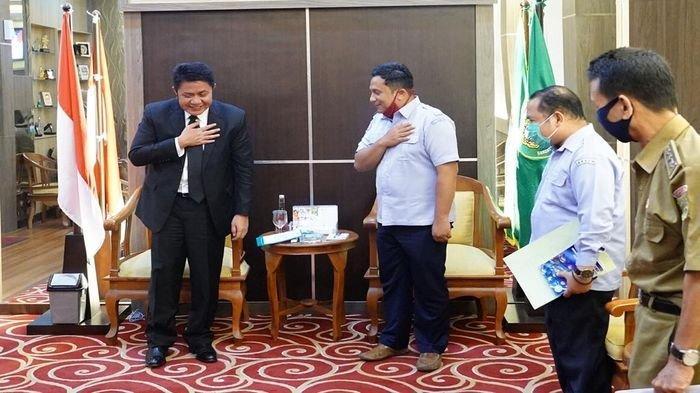 Tingkat Kesejahteraan Rakyat, HD Dukung Pembangunan BP3 dan Hibahkan Lahan 99 Hektare di Keramasan