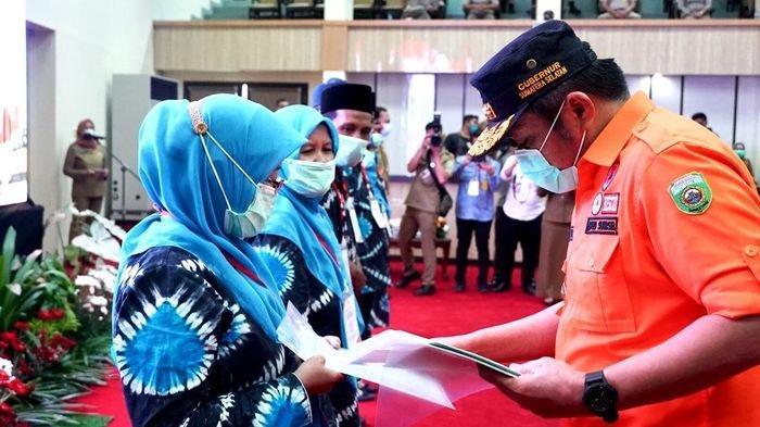 Herman Deru Bagikan 139 Ribu Sertifikat Tanah Warga Sumsel dari Presiden RI Jokowi Secara Virtual