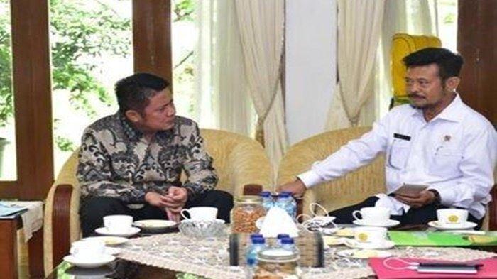 HPP Gabah Kering Giling Jeblok, Herman Deru Telepon Langsung Menteri Pertanian Syahrul Yasin Limpo