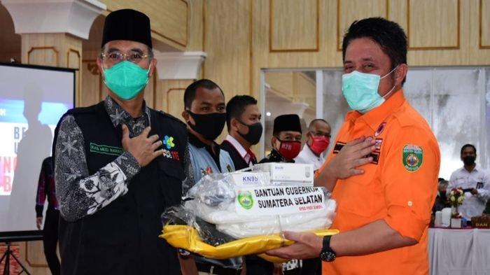 Gubernur Sumsel Herman Deru: Jubir Gugus Tugas Covid-19 Jangan Bentuk Opini yang Menakuti Masyarakat